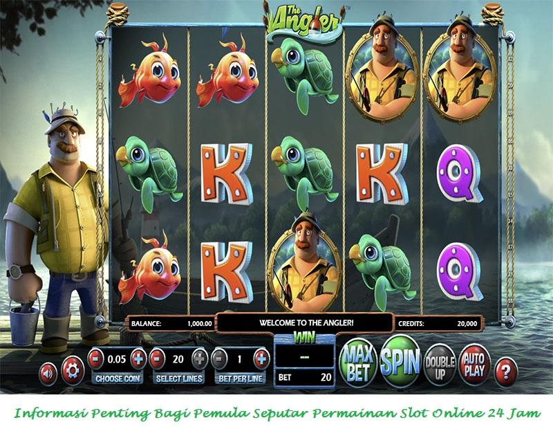 Informasi Penting Bagi Pemula Seputar Permainan Slot Online 24 Jam