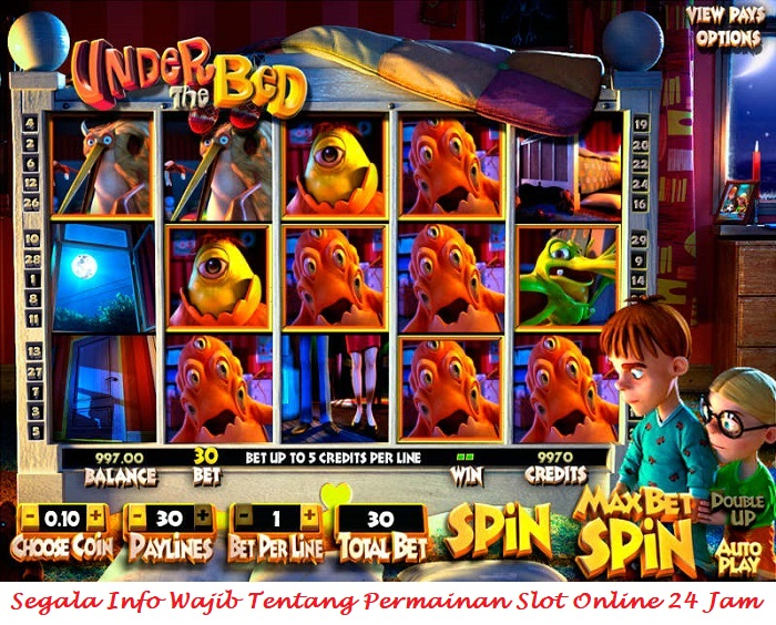 Segala Info Wajib Tentang Permainan Slot Online 24 Jam